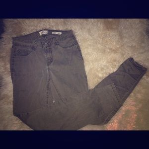 Jessica Simpson Size 7 Green Jeans